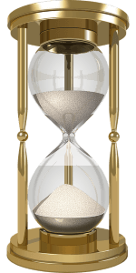 picture of an hour glass